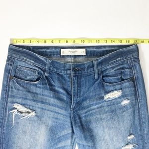 Abercrombie & Fitch Jeans - Abercrombie & Fitch Ankle Jeans Womens Distressed
